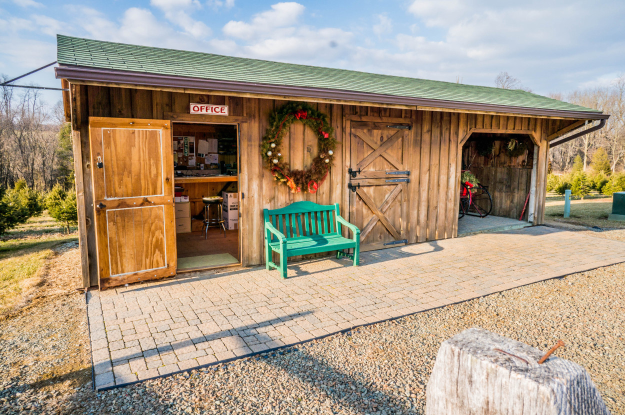 26 lancaster tree farm equipment and storage shed for Equipment shed