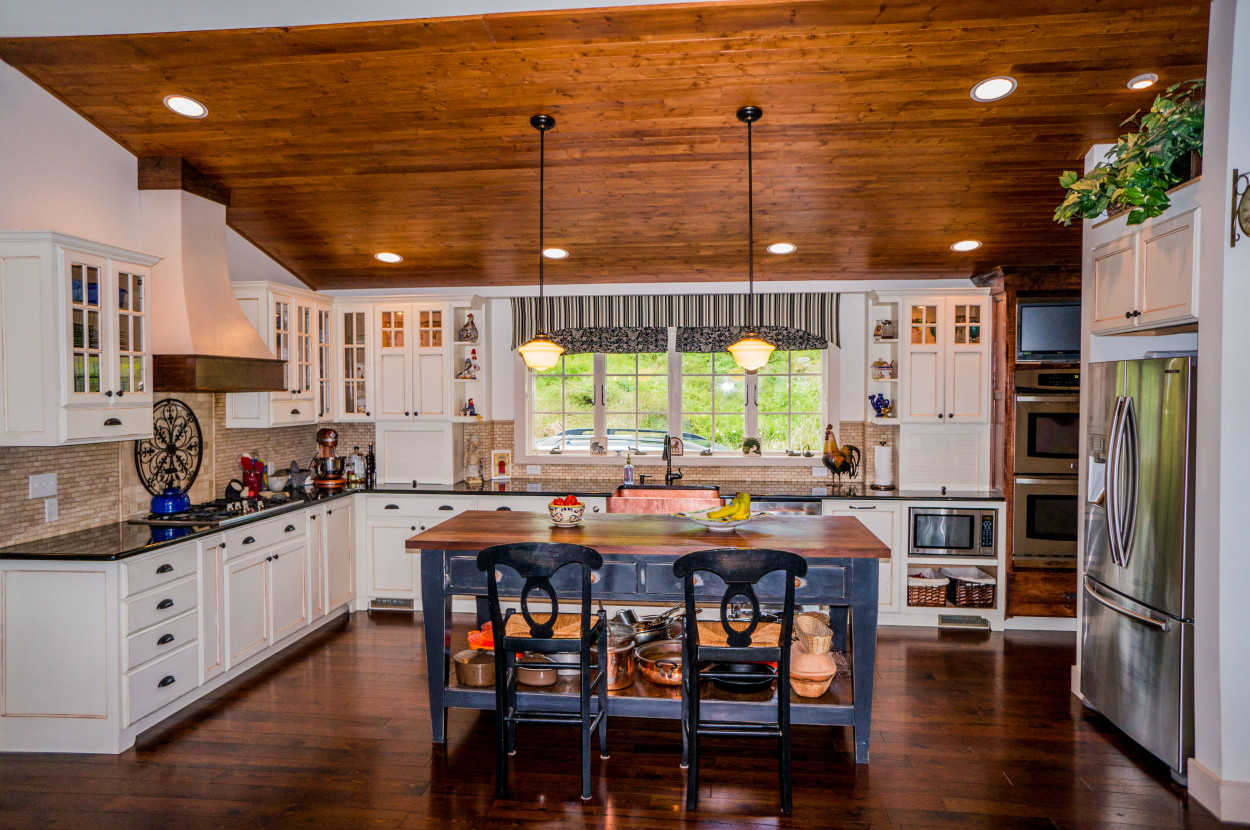 5 Lancaster Farm Island Style Country Kitchen William