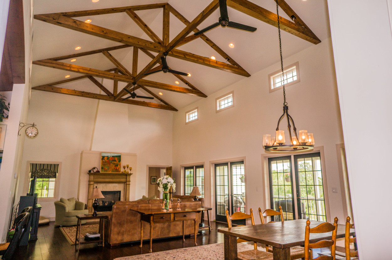 Cathedral ceilings for Living room vaulted ceiling